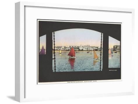 White Elephant, Nantucket, Massachusetts--Framed Art Print