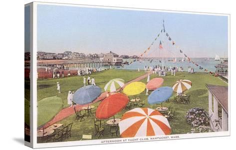 Yacht Club, Nantucket, Massachusetts--Stretched Canvas Print