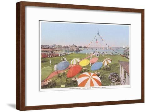 Yacht Club, Nantucket, Massachusetts--Framed Art Print