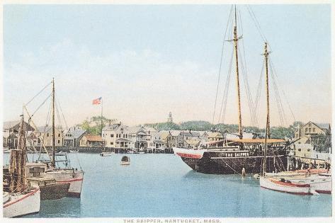 The Skipper, Nantucket, Massachusetts--Stretched Canvas Print