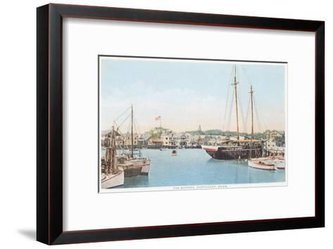 The Skipper, Nantucket, Massachusetts--Framed Art Print
