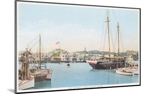 The Skipper, Nantucket, Massachusetts--Mounted Art Print