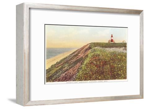 Sankaty Lighthouse, Siasconset, Nantucket, Massachusetts--Framed Art Print