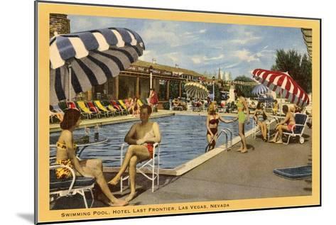 Pool, Hotel Last Frontier, Las Vegas, Nevada--Mounted Art Print