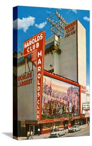 Harold's Club, Reno, Nevada--Stretched Canvas Print