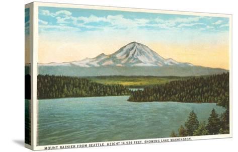 Mt. Rainier, Washington--Stretched Canvas Print