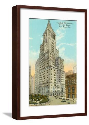 Standard Oil Building, New York City--Framed Art Print