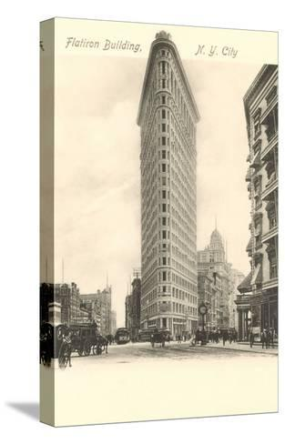 Flatiron Building, New York City--Stretched Canvas Print