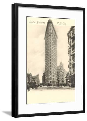 Flatiron Building, New York City--Framed Art Print