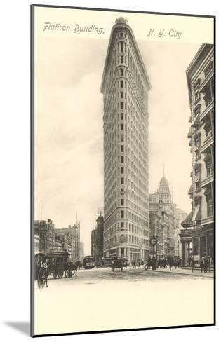 Flatiron Building, New York City--Mounted Art Print