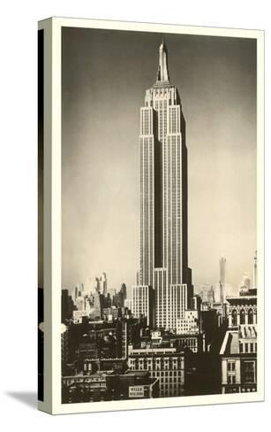 Empire State Building, New York City--Stretched Canvas Print