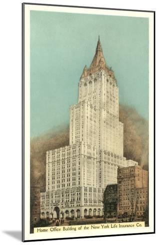 New York Life Insurance Building, New York City--Mounted Art Print