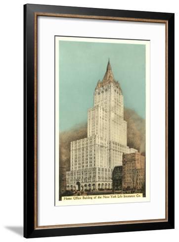 New York Life Insurance Building, New York City--Framed Art Print