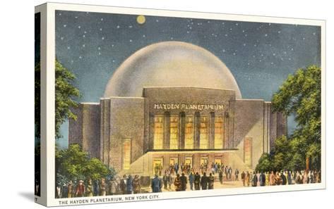 Hayden Planetarium, New York City--Stretched Canvas Print