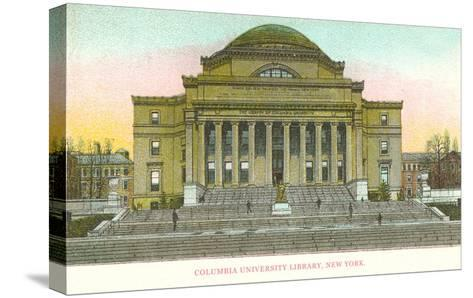 Library, Columbia University, New York City--Stretched Canvas Print