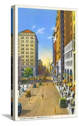 Court Street, Brooklyn, New York City--Stretched Canvas Print