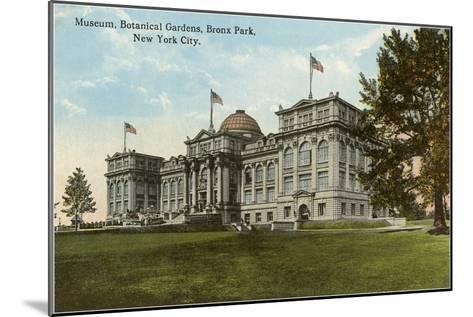Museum, Botanical Gardens, Bronx Park, New York City--Mounted Art Print