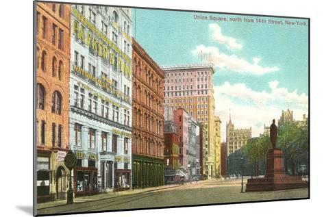 Union Square, New York City--Mounted Art Print