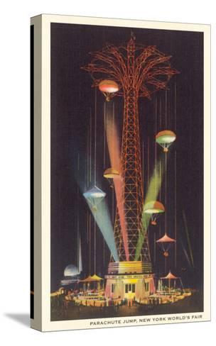 Parachute Jump, New York World's Fair--Stretched Canvas Print