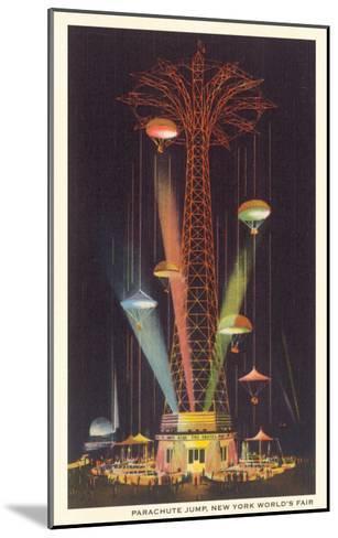 Parachute Jump, New York World's Fair--Mounted Art Print