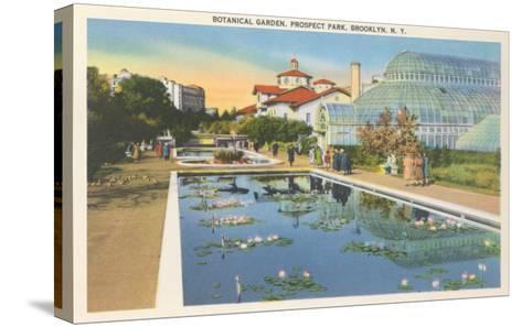 Botanical Garden, Prospect Park, Brooklyn, New York--Stretched Canvas Print