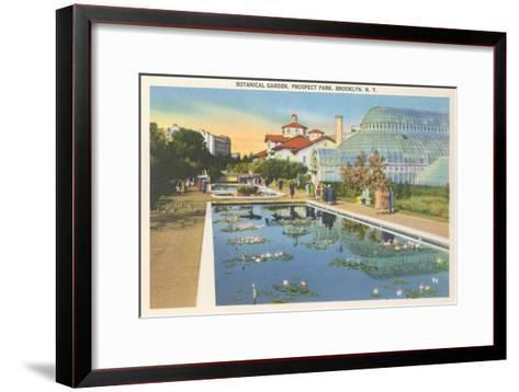 Botanical Garden, Prospect Park, Brooklyn, New York--Framed Art Print