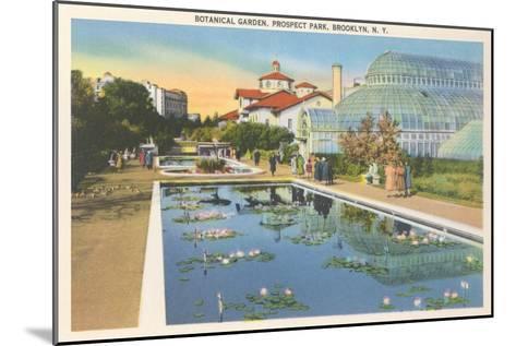 Botanical Garden, Prospect Park, Brooklyn, New York--Mounted Art Print