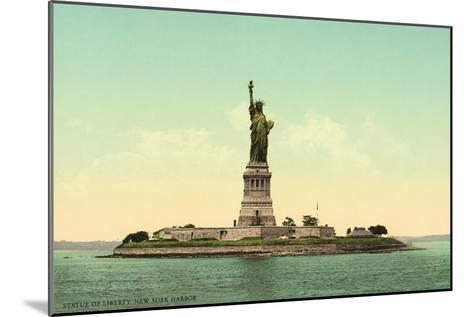 Statue of Liberty, New York Harbor--Mounted Art Print