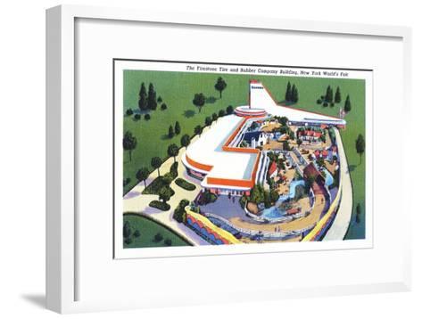 Firestone Building, New York World's Fair--Framed Art Print