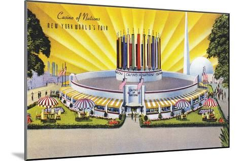 Casino of Nations, New York World's Fair--Mounted Art Print