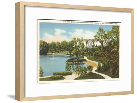 Art Museum, Cleveland, Ohio--Framed Art Print