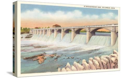 O'Shaughnessy Dam, Columbus, Ohio--Stretched Canvas Print
