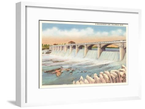 O'Shaughnessy Dam, Columbus, Ohio--Framed Art Print