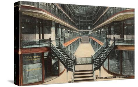 Superior Arcade, Cleveland, Ohio--Stretched Canvas Print