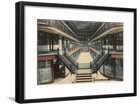 Superior Arcade, Cleveland, Ohio--Framed Art Print