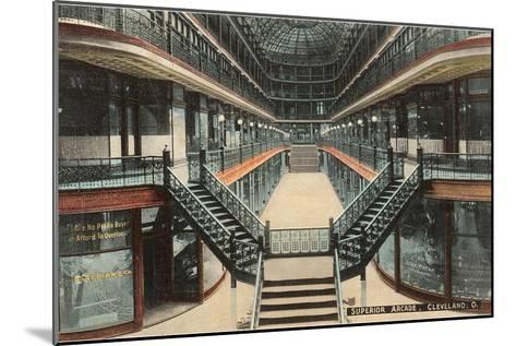 Superior Arcade, Cleveland, Ohio--Mounted Art Print