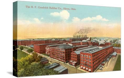 Goodrich Rubber Company, Akron, Ohio--Stretched Canvas Print