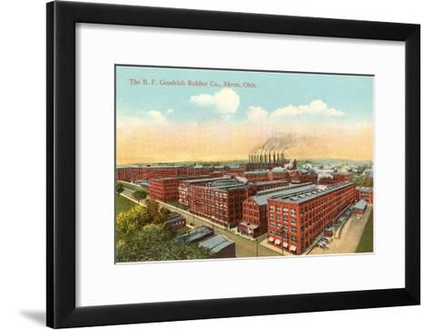 Goodrich Rubber Company, Akron, Ohio--Framed Art Print