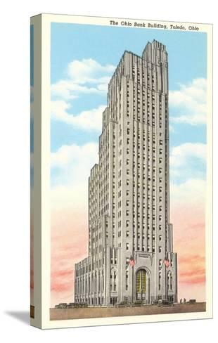 Ohio Bank Building, Toledo, Ohio--Stretched Canvas Print
