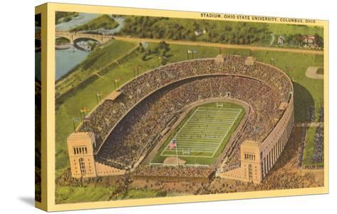 University Stadium, Columbus, Ohio--Stretched Canvas Print
