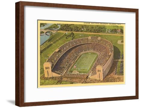University Stadium, Columbus, Ohio--Framed Art Print