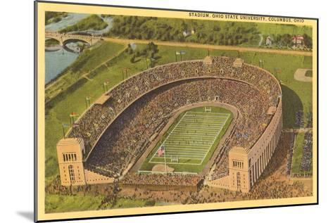 University Stadium, Columbus, Ohio--Mounted Art Print