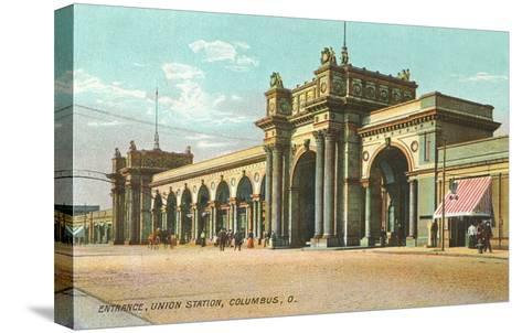 Union Station, Columbus, Ohio--Stretched Canvas Print