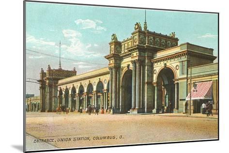 Union Station, Columbus, Ohio--Mounted Art Print