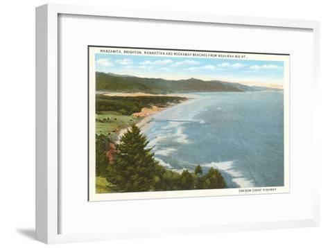 Beaches, Oregon Coast Highway--Framed Art Print