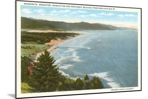 Beaches, Oregon Coast Highway--Mounted Art Print