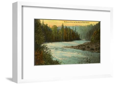 McKenzie River, Oregon--Framed Art Print