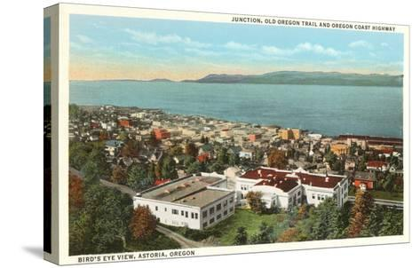 Astoria, Oregon--Stretched Canvas Print