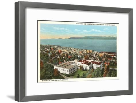 Astoria, Oregon--Framed Art Print