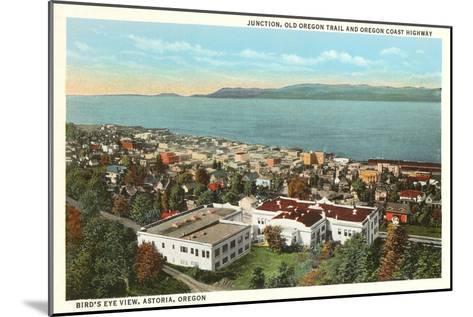 Astoria, Oregon--Mounted Art Print